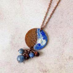 Boho Bohemian Pendant Necklace Southwestern Jewelry Hippie