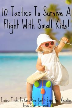 Tips & Tricks on flight survival with small children - from one Mom to another!  http://blog.bajababyshop.com/traveltips