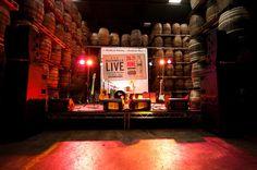 Bushmills LIVE Festival stage