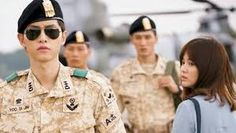 Resultado de imagen para song joong ki descendants of the sun