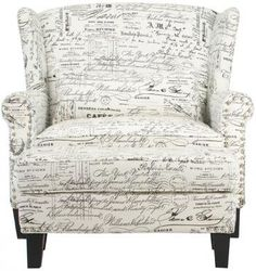 Zoey Armchair with Ottoman - Armchairs - Living Room - Furniture | HomeDecorators.com