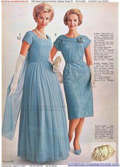 1960s Fashion Women, Vintage Fashion, Womens Fashion, Vintage Style Dresses, Vintage Outfits, Vintage Clothing, New Outfits, Dress Outfits, Christmas Catalogs