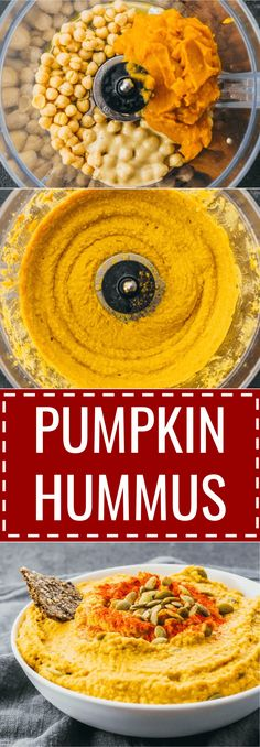 Spiced pumpkin hummus dip with tahini / thanksgiving / spicy / how to make / cinnamon / recipe / sweet / appetizers / savory / vegan / olive oils / fall / food / homemade / mediterranean / keto / low carb / diet / atkins / induction / meals / recipes / easy / dinner / lunch / foods / healthy / gluten free / paleo / ideas / what to eat / best / lemon / creamy / traditional #pumpkin #hummus #fall #Healthy