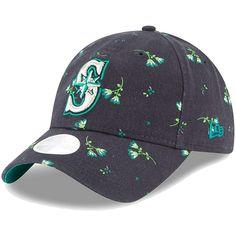 check out 91329 f375d Women s Seattle Mariners New Era Navy Blossom 9TWENTY Adjustable Hat,   23.99 New Era Cap,