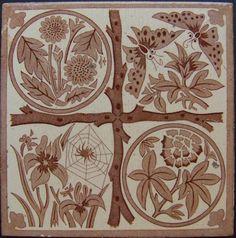 West Side Art Tiles -4488n318p0 - English Tile>