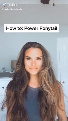 Pretty Hairstyles, Easy Hairstyles, Everyday Hairstyles, Long Hair Hairdos, Athletic Hairstyles, Wedding Hairstyles, Hairdo For Long Hair, Overnight Hairstyles, Curling Iron Hairstyles