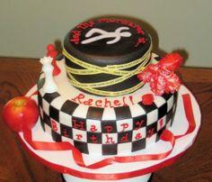 Crime Scene murder mystery cake