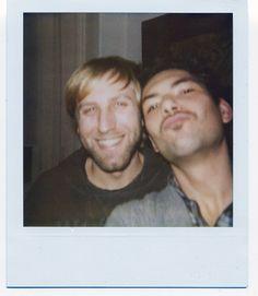 friends, vintage, polaroid