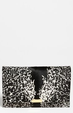 In love with this Burberry 'Roslin' Calf Hair Clutch available @Nordstrom