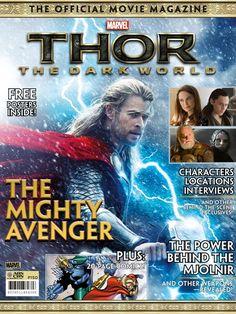 Thor: The Dark World movie magazine