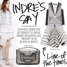 Indre's Say: The Line of the Times! @peterpilotto @pierrehardy @thakoonny for Resort! | tbFAKE