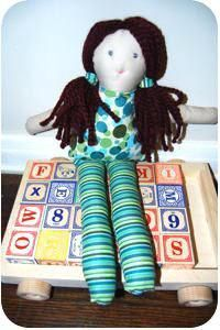 DIY Tutorial DIY Fabric Dolls / DIY Make-A-Doll Pattern and Instructions - Bead&Cord