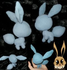 Pokemon Plush Patterns | eevee prototype plush by plushiemania artisan crafts dolls plushies ...