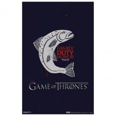 Game of Thrones House Tully Poster [11x17]