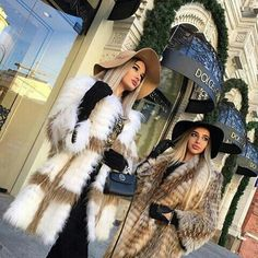 Websta @ thebillionwomanofficial - via fur fashion, rich lifestyle, luxury lifestyle, Boujee Lifestyle, Luxury Lifestyle Women, Fur Fashion, Winter Fashion, Mode Ootd, Luxury Girl, Rich Girl, Rich Woman, Besties