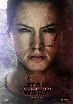 I love how this is the same poster as for The Force Awakens but there's just that dark part on the side.
