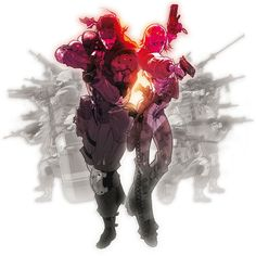 Main Artwork - Metal Gear Ac!d