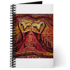 Owl Be Yours Journal, on Artwork and Play by D Renee Wilson