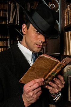 Dominic Cooper as Ian Flemming. He was probably the only part of the mini series that I liked :/ Ann O'Neill is a horrible person.