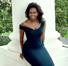 First Lady Michelle Obama. Vogue December 2016