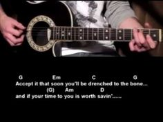 The Times They Are A Changin - Bob Dylan - How To Play - Best guitar lessons - YouTube