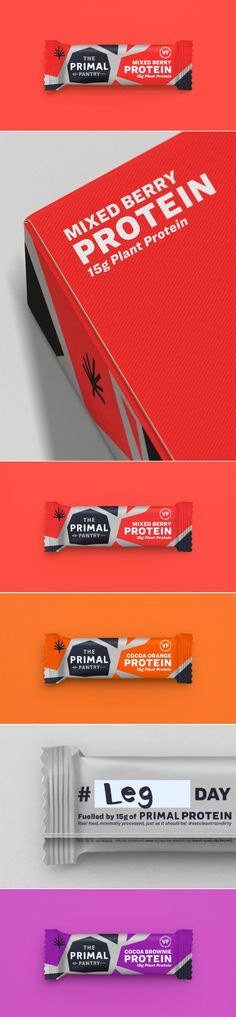 A Protein Bar For Gym-Goers Who Want to Up Their Game — The Dieline | Packaging & Branding Design & Innovation News