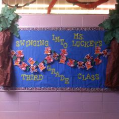 Just an idea fellow educators.. My bulletin board for the first week of school! :)