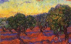Αποτέλεσμα εικόνας για paintings of trees by famous artists
