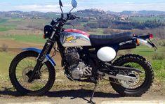 Dominator Xrambler by Dingo [2] - Honda Dominator Enduro Motorcycle, Cafe Racer Motorcycle, Dominator Scrambler, Trail, Custom Motorcycles, Kustom, Cool Bikes, Motorbikes, Offroad