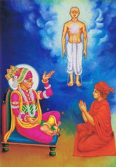 Jiva, Ishwar, Maya, Brahm and Parbrahm Bhagavata Purana, Shiva Lord Wallpapers, Ganesha Art, Lord Krishna Images, Background Images Wallpapers, Hanuman, Indian Paintings, Morning Images, Maya