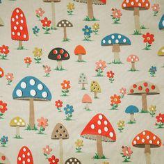 Toile cirée Mushroom
