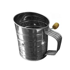 Zensson Stainless Steel Flour Sifter with Crank >>> Check out the image by visiting the link.