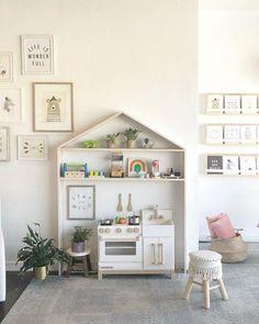 Small Playroom, Playroom Wall Decor, Toddler Playroom, Office Playroom, Playroom Storage, Playroom Design, Kids Room Design, Playroom Layout, Indoor Playroom
