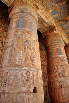 Columns from Luxor Temple, Luxor, Egypt http://www.shaspo.com/marsa-alam-excursions-and-holidays