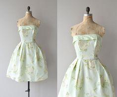 Minted Dewdrop dress  vintage by DearGolden