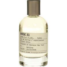 Le Labo Rose 31 Fragrance. Beautiful, dark, woodsy, musky take on the Grasse rose. Super sexy and mysterious.