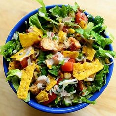 HERE YA GO, REE DRUMMON/THE PIONEER WOMAN's recipe 4 Taco Salad! I know, your very Welcome-enjoy!