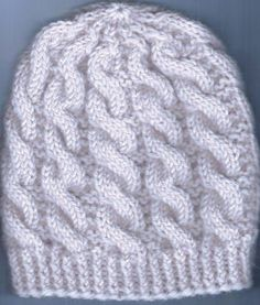 Palmikkopipo edestakaisneulosraidoin | Punomo Baby Hat Knitting Pattern, Knitting Charts, Knitting Patterns, Baby Hats, Fun Projects, Knitted Hats, Crochet, How To Make, Crafts