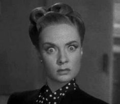 Audrey Totter's amazing face