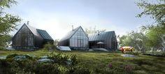Cloo Studio House in Newzeland by Tu Nguyen Duc