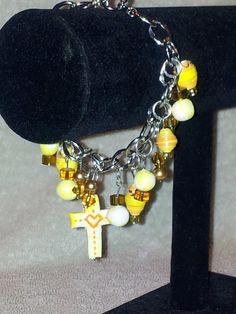 Yellow Love of Christ Bracelet