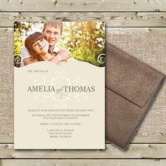 Plan My Wedding, Wedding Prep, Wedding With Kids, Gold Wedding, Wedding Planner, Wedding Day, Event Invitations, Photo Wedding Invitations, Invitation Paper