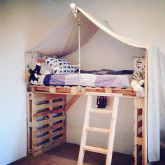 #pallet #bed #hut