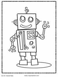 Brilliant Beginnings Preschool Robot Coloring Pages Robots