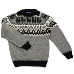 INDUSTRY OF ALL NATIONS naturally colored alpaca jumper