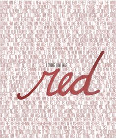 """But moving on from him is impossible when I still see it all in my head, In burning red"" Red lyrics 