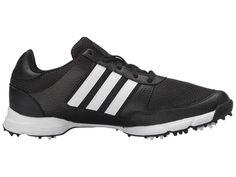 adidas Golf Tech Response Men's Golf Shoes Core Black/FTWR White/Core Black