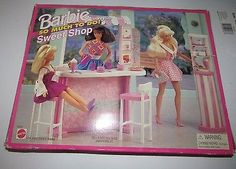 Barbie So Much To Do Sweet Shop Playset 1995 Arcotoys, Mattel