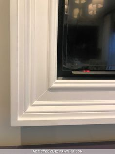 How To Build An Easy Diy Frame For A Wall Mounted Flat Screen Tv 21