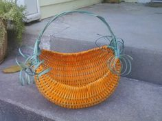 Look what Gigi made! This will be her October project in Basketweaving Class! Come join us!